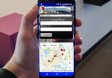 GeoVideoz Search App